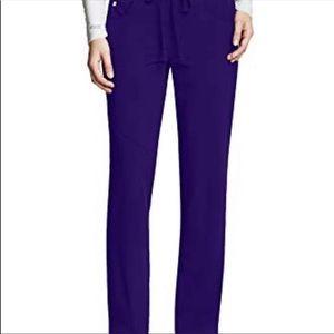 Greys anatomy navy scrub pants
